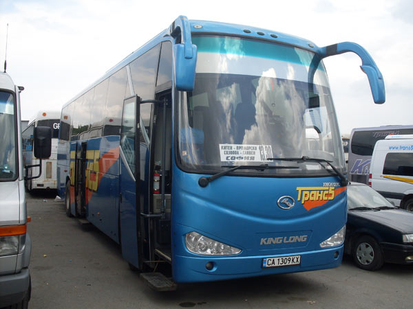 Bus company in Bulgaria