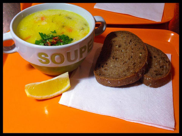 Healthy food restaurant - Soupa bar