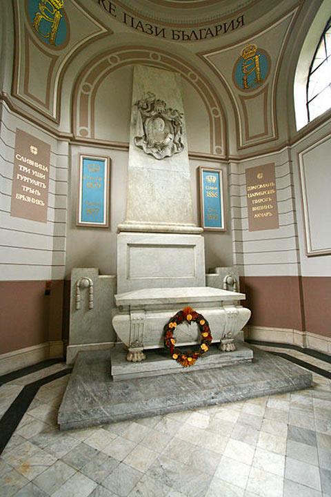 Alexander Battenberg Mausoleum | Sofia Guide