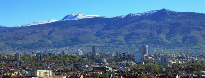 Vitosha Mountain - the national park near Sofia